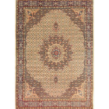 Beautiful Fine Hand-knotted Persian Wool Birjand Rug 266cm x 385cm - House Of Haghi