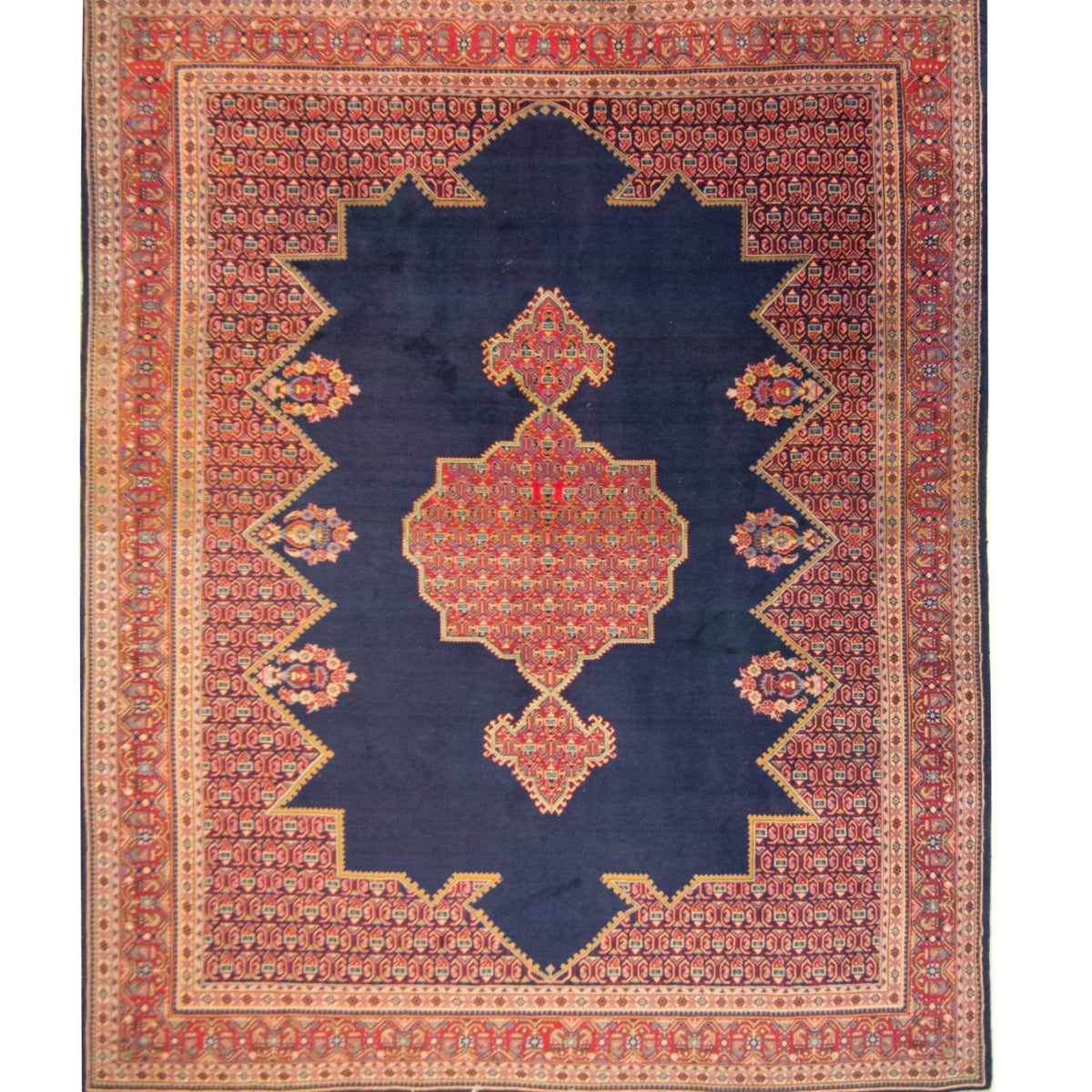 Extra Large Fine Hand-knotted Wool Persian Mahabad Rug 322cm x 438cm Persian-Rug | House-of-Haghi | NewMarket | Auckland | NZ | Handmade Persian Rugs | Hand Knotted Persian Rugs