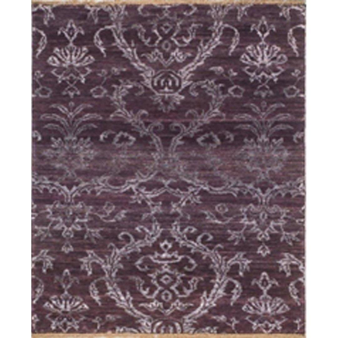 Contemporary Hand-knotted NZ Wool & Bamboo Silk Small Rug Persian-Rug | House-of-Haghi | NewMarket | Auckland | NZ | Handmade Persian Rugs | Hand Knotted Persian Rugs