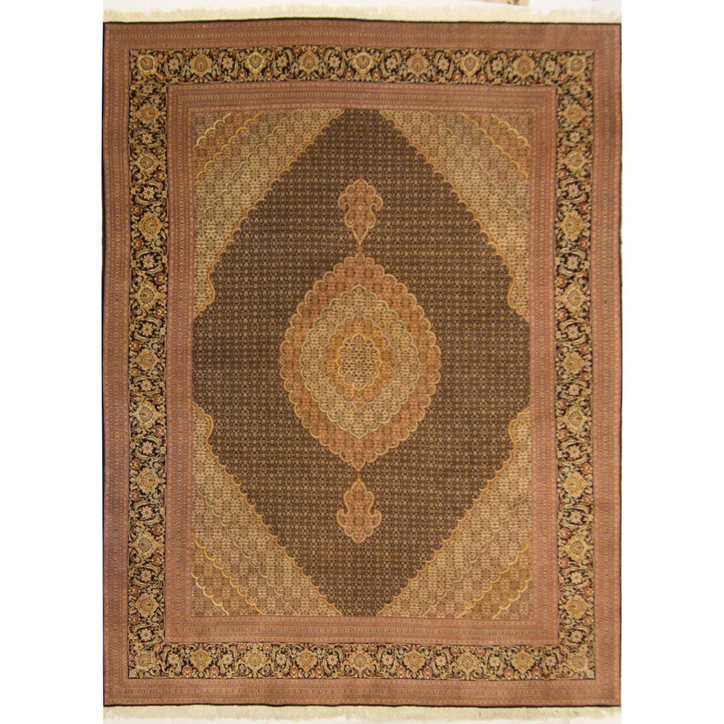 Super Fine Hand-knotted Persian Tabriz - Mahi Rug 251cm x 341cm - House Of Haghi