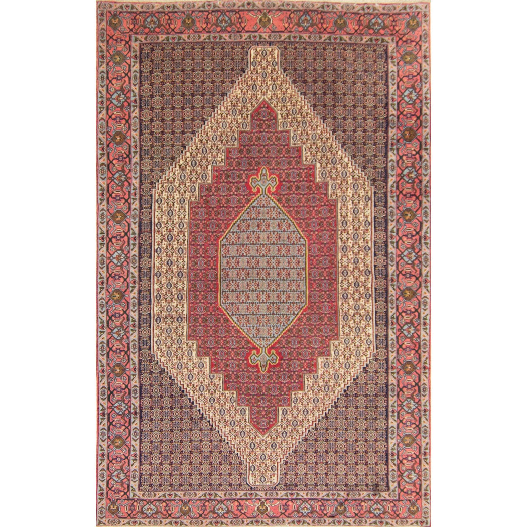 Fine Persian Senneh Rug 200cm x 310cm - House Of Haghi