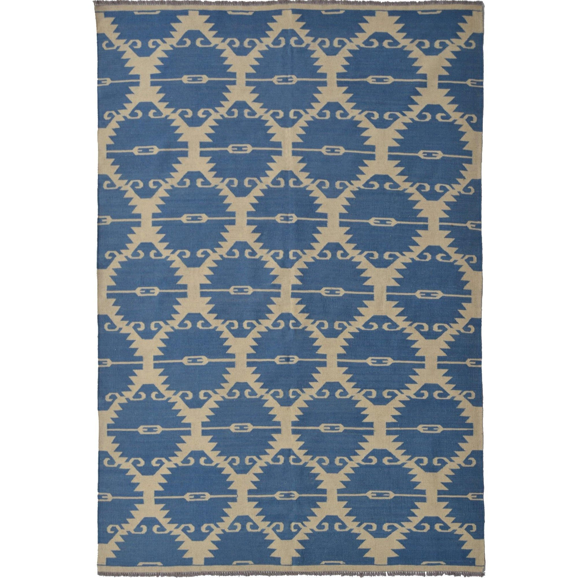 Modern Hand-woven 100% Wool Chobi Kilim Rug 188cm x 244cm Persian-Rug | House-of-Haghi | NewMarket | Auckland | NZ | Handmade Persian Rugs | Hand Knotted Persian Rugs