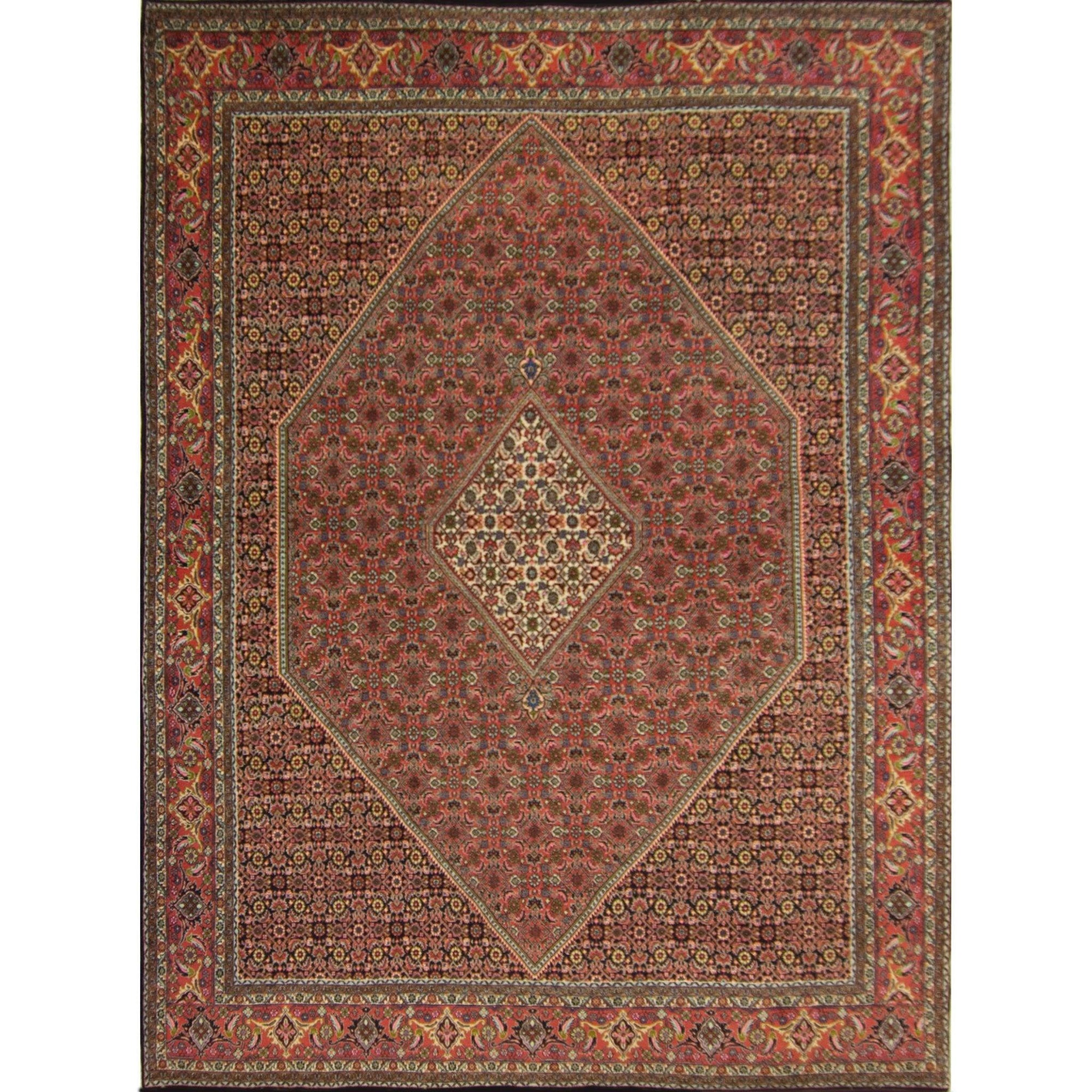 Super Fine Hand-knotted Persian Wool Bijar Rug 266cm x 335cm Persian-Rug | House-of-Haghi | NewMarket | Auckland | NZ | Handmade Persian Rugs | Hand Knotted Persian Rugs