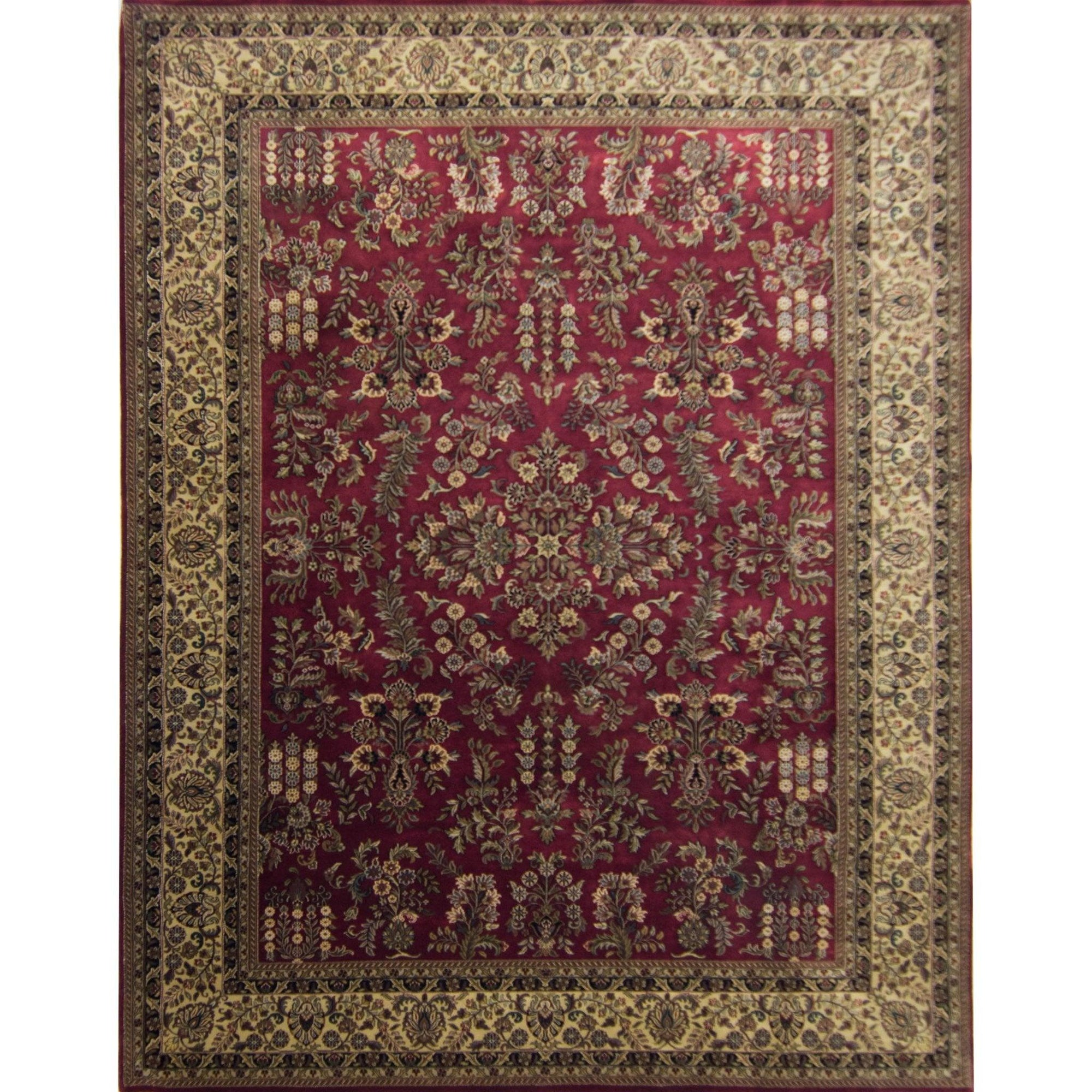 Fine Persian Saruk Rug 277cm x 366cm Persian-Rug | House-of-Haghi | NewMarket | Auckland | NZ | Handmade Persian Rugs | Hand Knotted Persian Rugs
