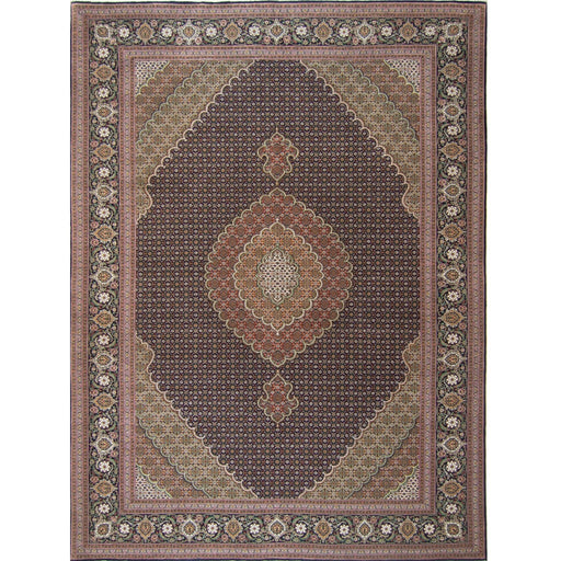 Super Fine Hand-knotted Wool and Silk Persian Tabriz - Mahi Rug 204 cm x 296 cm - House Of Haghi