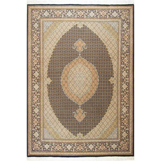 Super Fine Hand-knotted Wool and Silk Persian Tabriz - Mahi Rug 205 cm x 295 cm - House Of Haghi