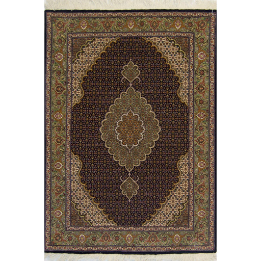 1 x 1.5 Meter_Persian_Super Fine PersianHand-knotted Tabriz - Mahi Rug_handknotted_Rug