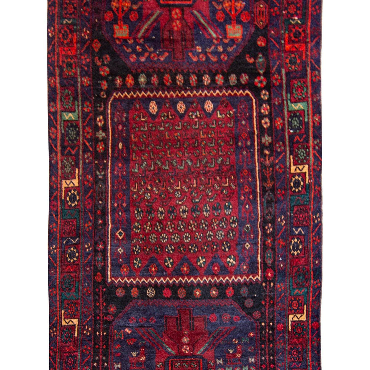 Find Hand-knotted Wool Tribal Kolyai Runner 129cm x 350cm Persian-Rug | House-of-Haghi | NewMarket | Auckland | NZ | Handmade Persian Rugs | Hand Knotted Persian Rugs