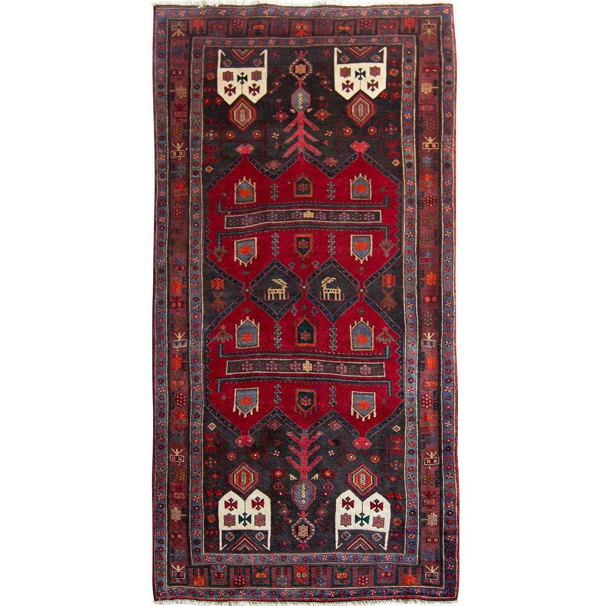 Fine Hand-knotted Tribal Wool Kolyai Runner 153cm x 376cm Persian-Rug | House-of-Haghi | NewMarket | Auckland | NZ | Handmade Persian Rugs | Hand Knotted Persian Rugs
