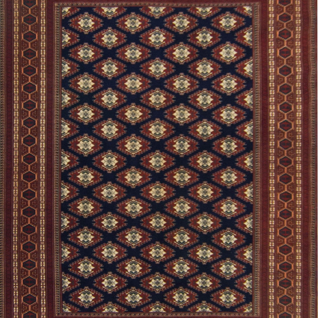 Super Fine Hand-knotted 100% Wool Persian Turkmen Rug 206 CM X 297 CM - House Of Haghi