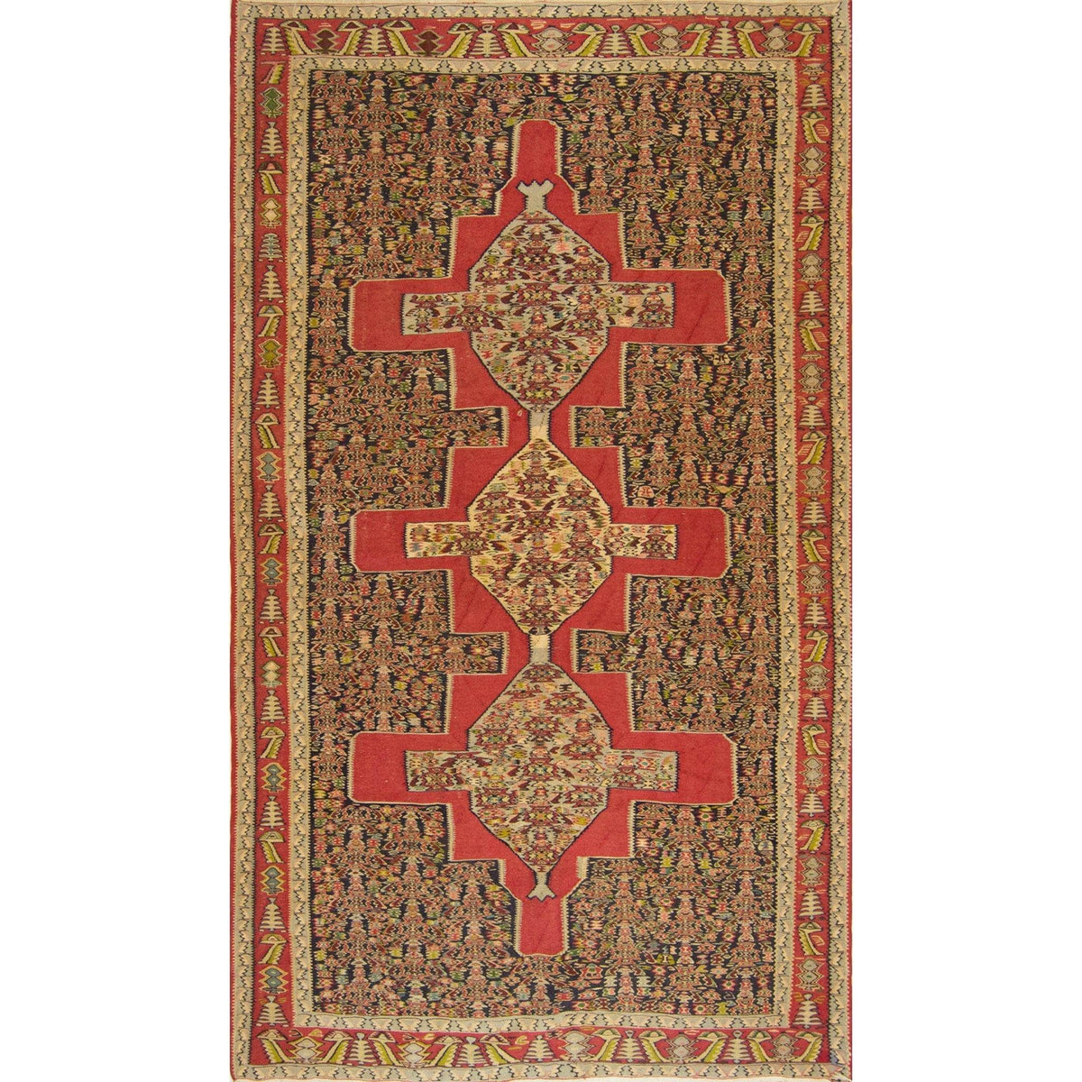 Fine Persian Tribal Kilim 148cm x 260cm Persian-Rug | House-of-Haghi | NewMarket | Auckland | NZ | Handmade Persian Rugs | Hand Knotted Persian Rugs