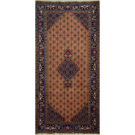 1.5 x 3 Meter_Persian_Hand-knotted Persian Ardabil Rug_handknotted_Runner