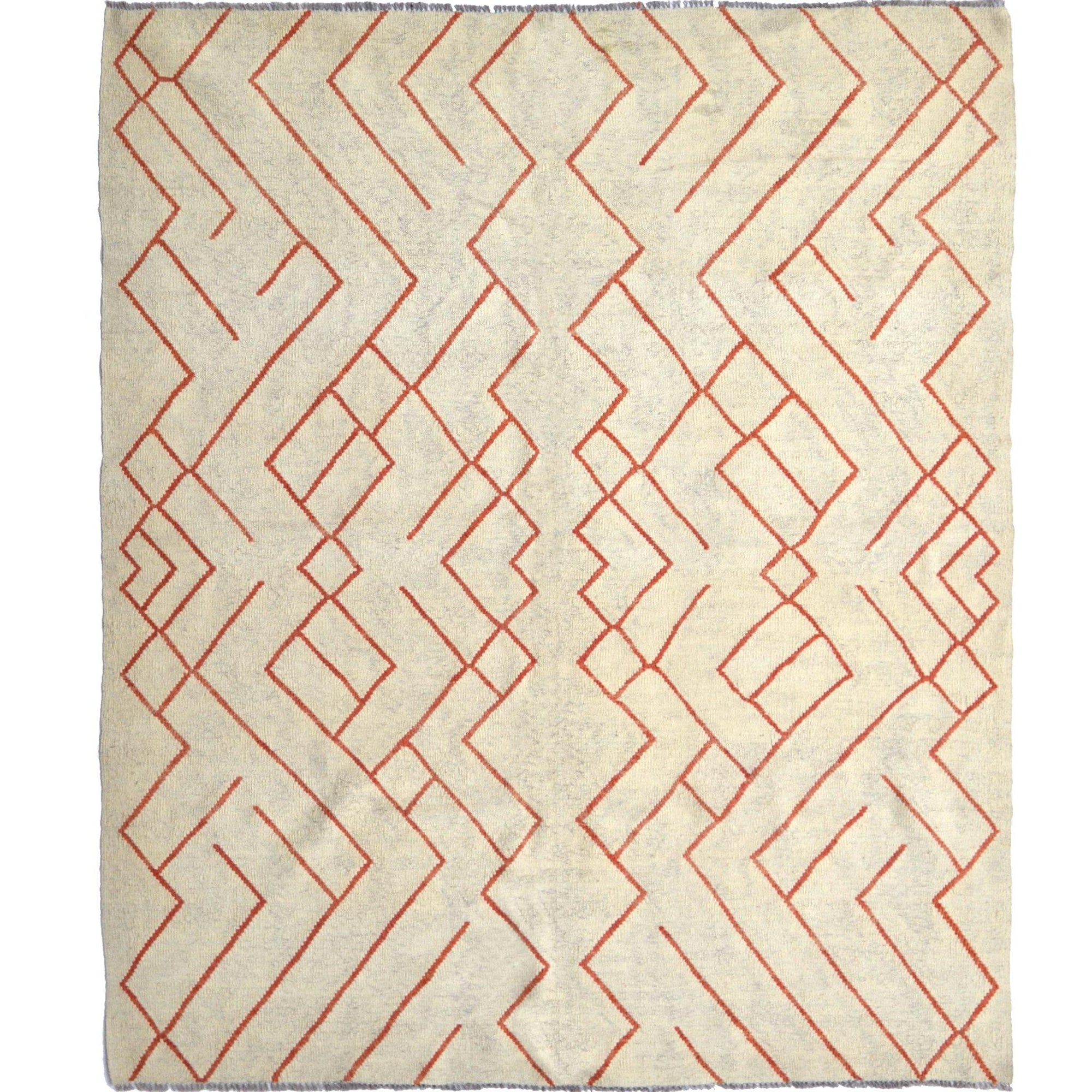 Fine Modern Hand-woven 100% Wool Afghan Chobi Kilim Rug 182cm x 221cm Persian-Rug | House-of-Haghi | NewMarket | Auckland | NZ | Handmade Persian Rugs | Hand Knotted Persian Rugs