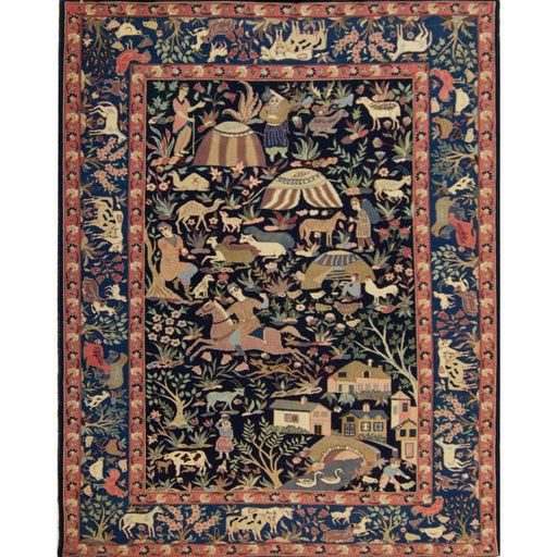 Collectible Hand-knotted Persian Wool Baluchi Rug - House Of Haghi
