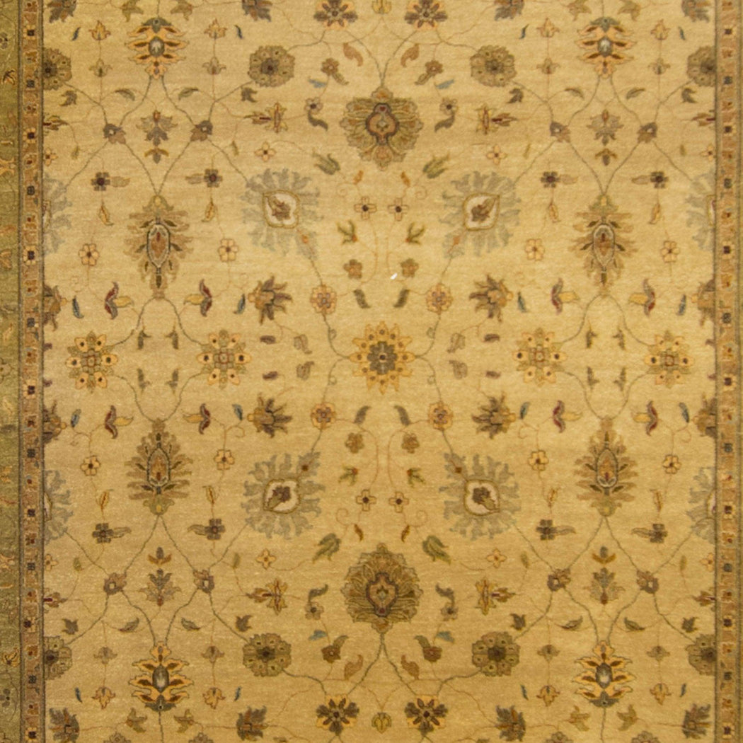 Fine Hand-knotted Kashan Rug 269cm x 344cm - House Of Haghi