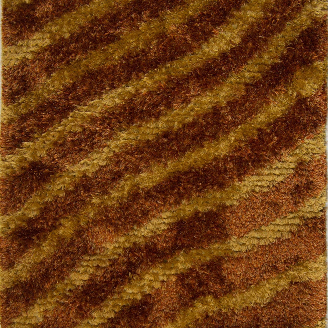 1 x 2 Meter_Persian_Shaggy_handknotted_Rug