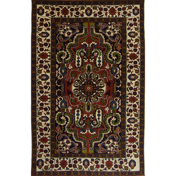 Fine Hand-knotted Persian Yalameh Rug 126cm x 191cm - House Of Haghi