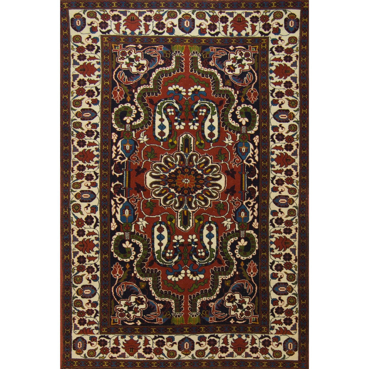 Fine Hand-knotted Persian Yalameh Rug 120cm x 188cm Persian-Rug | House-of-Haghi | NewMarket | Auckland | NZ | Handmade Persian Rugs | Hand Knotted Persian Rugs