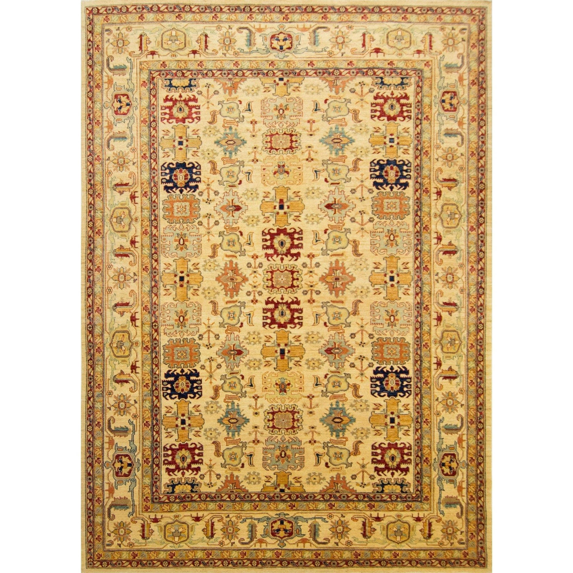 Fine Hand-knotted Wool Heriz Rug 250cm x 357cm Persian-Rug | House-of-Haghi | NewMarket | Auckland | NZ | Handmade Persian Rugs | Hand Knotted Persian Rugs