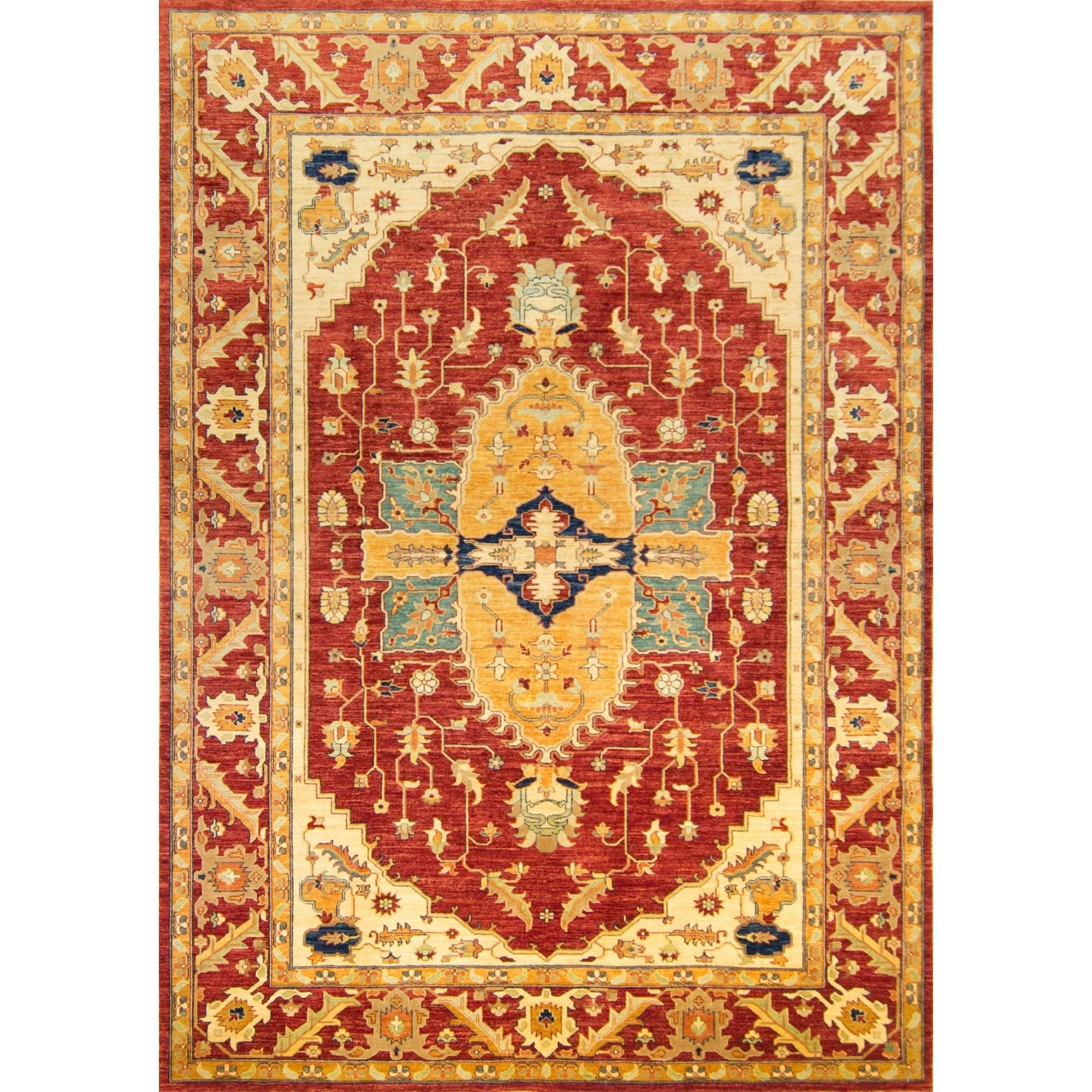 Fine Hand-knotted Wool Heriz Rug 240cm x 340cm Persian-Rug | House-of-Haghi | NewMarket | Auckland | NZ | Handmade Persian Rugs | Hand Knotted Persian Rugs