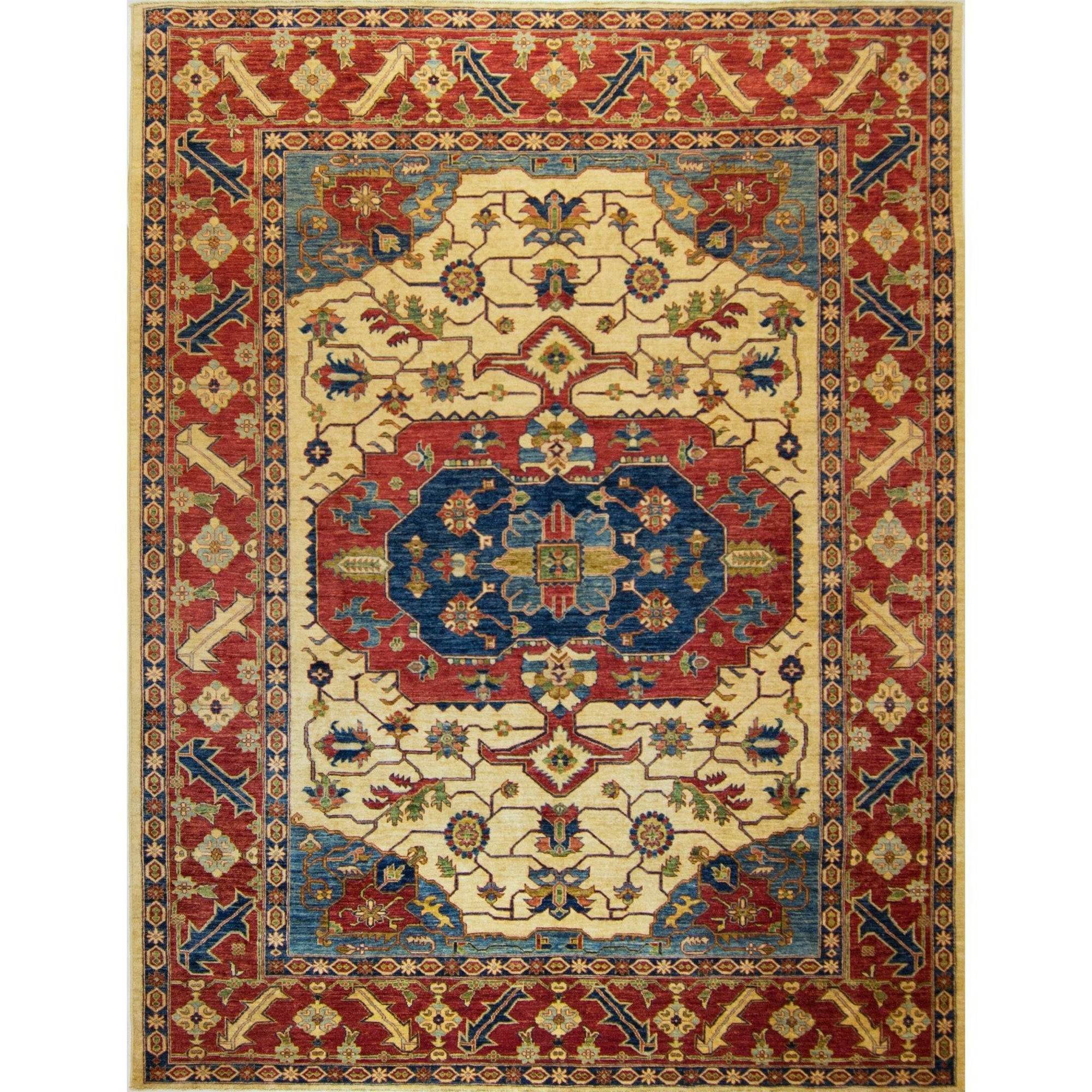 Fine Hand-knotted Wool Heriz 270cm x 335cm Persian-Rug | House-of-Haghi | NewMarket | Auckland | NZ | Handmade Persian Rugs | Hand Knotted Persian Rugs