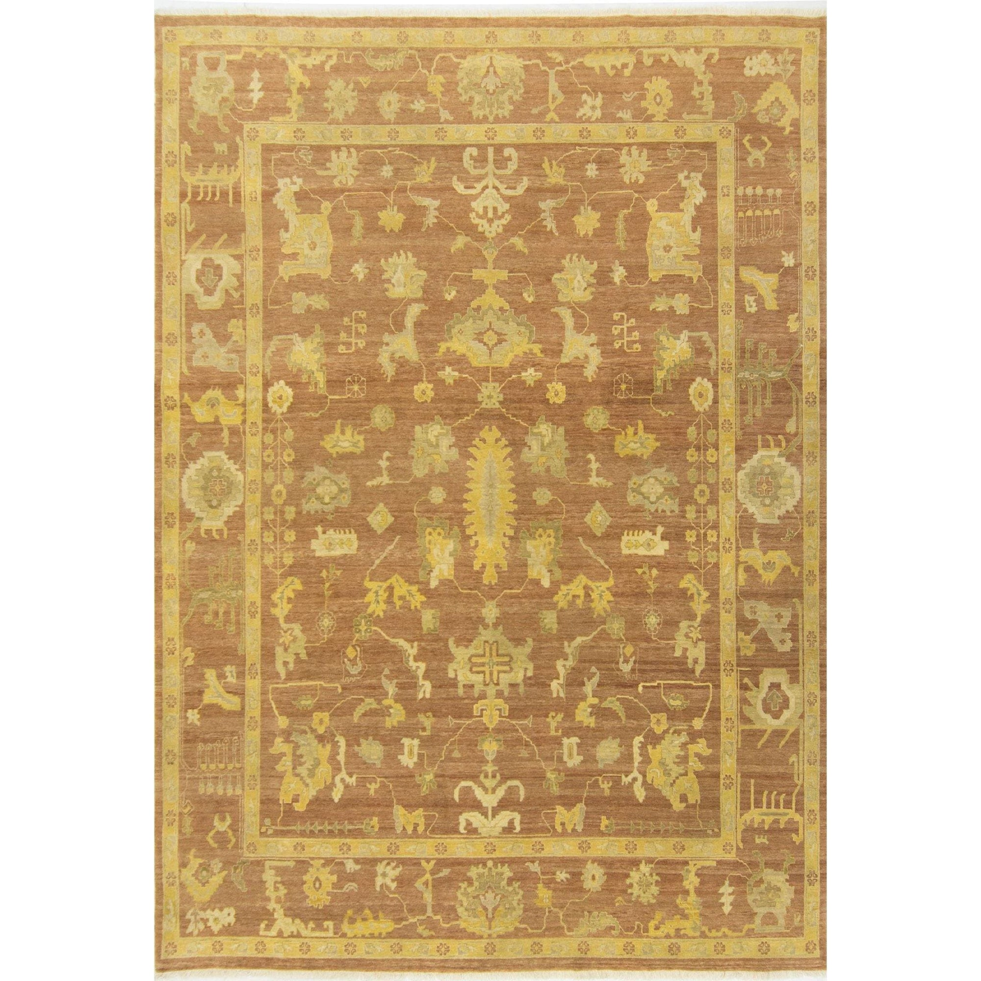 Fine Modern Hand-knotted Ushak Rug 280cm x 363cm Persian-Rug | House-of-Haghi | NewMarket | Auckland | NZ | Handmade Persian Rugs | Hand Knotted Persian Rugs