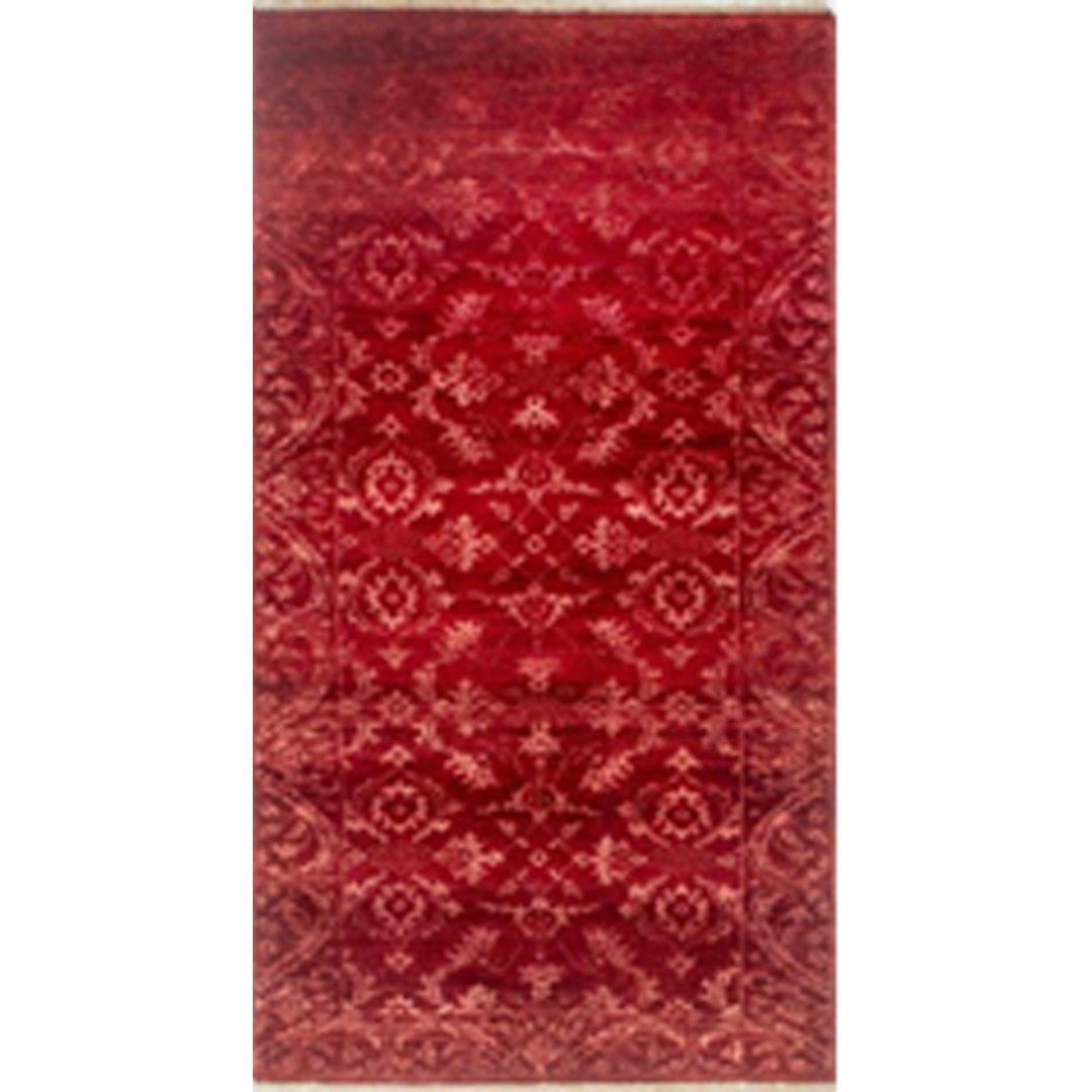 Contemporary Hand-knotted NZ Wool Damask Runner 75cm x 192cm Persian-Rug | House-of-Haghi | NewMarket | Auckland | NZ | Handmade Persian Rugs | Hand Knotted Persian Rugs