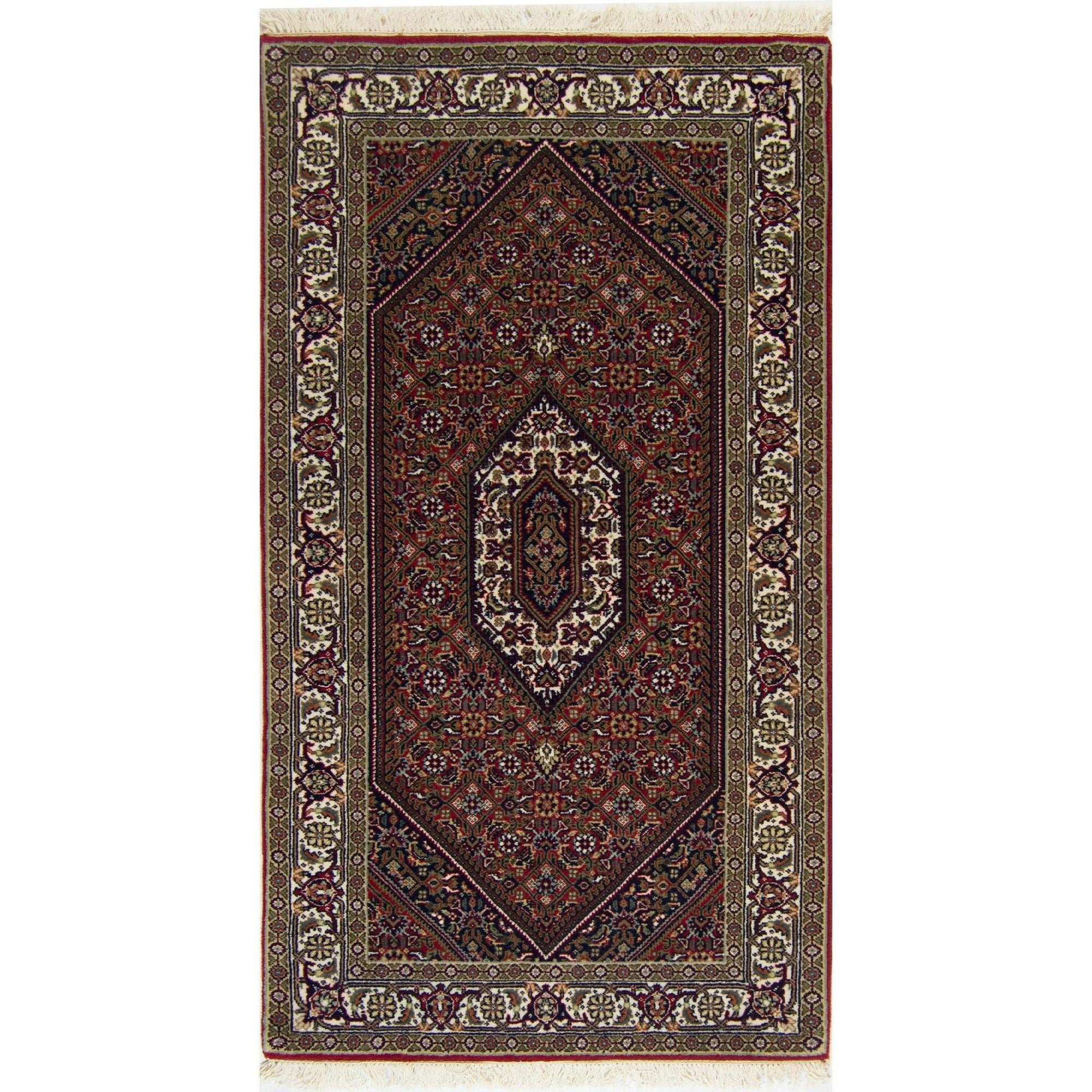 Fine Hand made Super Bijar Rug 74cm x 142cm Persian-Rug | House-of-Haghi | NewMarket | Auckland | NZ | Handmade Persian Rugs | Hand Knotted Persian Rugs
