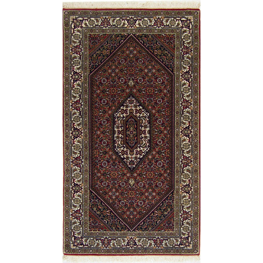 0.5 x 1.5 Meter_Persian_Super Bijar_handknotted_Runner
