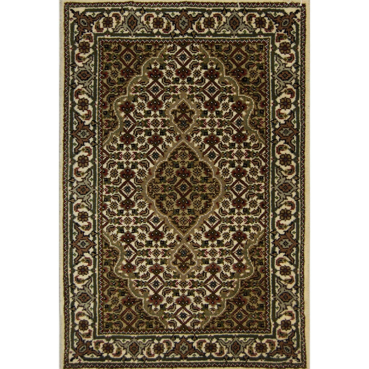 Small Hand-knotted Tabriz - Mahi Rug 62cm x 94cm Persian-Rug | House-of-Haghi | NewMarket | Auckland | NZ | Handmade Persian Rugs | Hand Knotted Persian Rugs