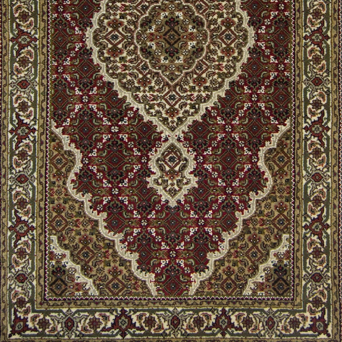 Small Fine Hand-knotted NZ Wool Tabriz - Mahi 93cm x 165cm Persian-Rug | House-of-Haghi | NewMarket | Auckland | NZ | Handmade Persian Rugs | Hand Knotted Persian Rugs