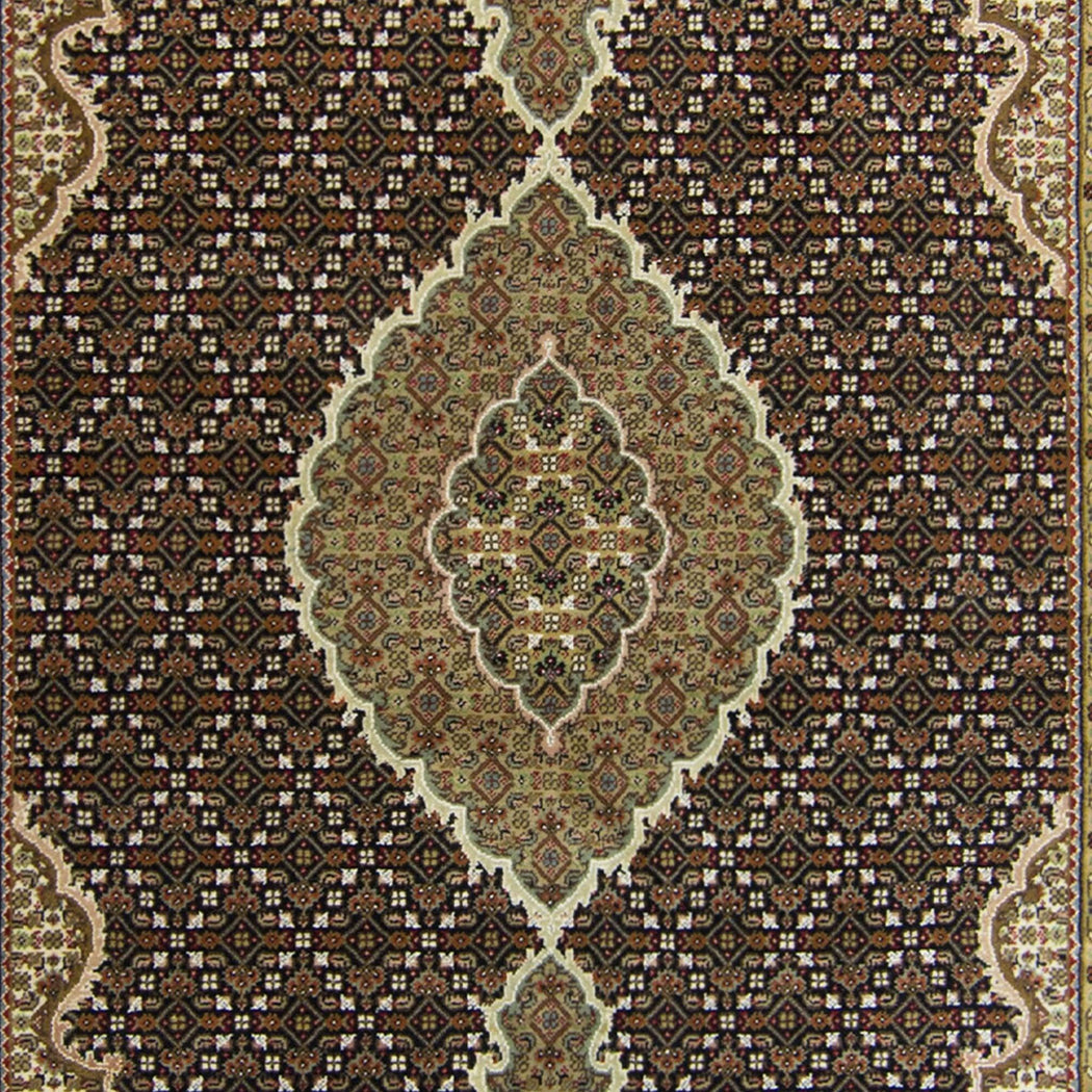 Fine Hand-knotted Tabriz - Mahi Design Rug 164cm x 243cm - House Of Haghi