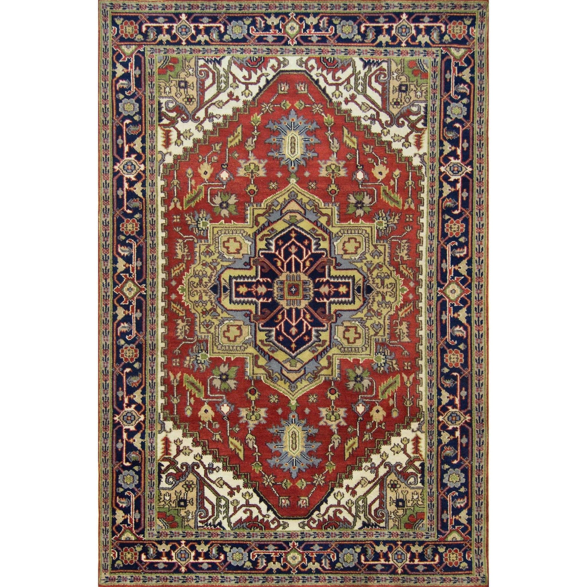 Hand-knotted Wool Heriz Rug 181cm x 272cm Persian-Rug | House-of-Haghi | NewMarket | Auckland | NZ | Handmade Persian Rugs | Hand Knotted Persian Rugs