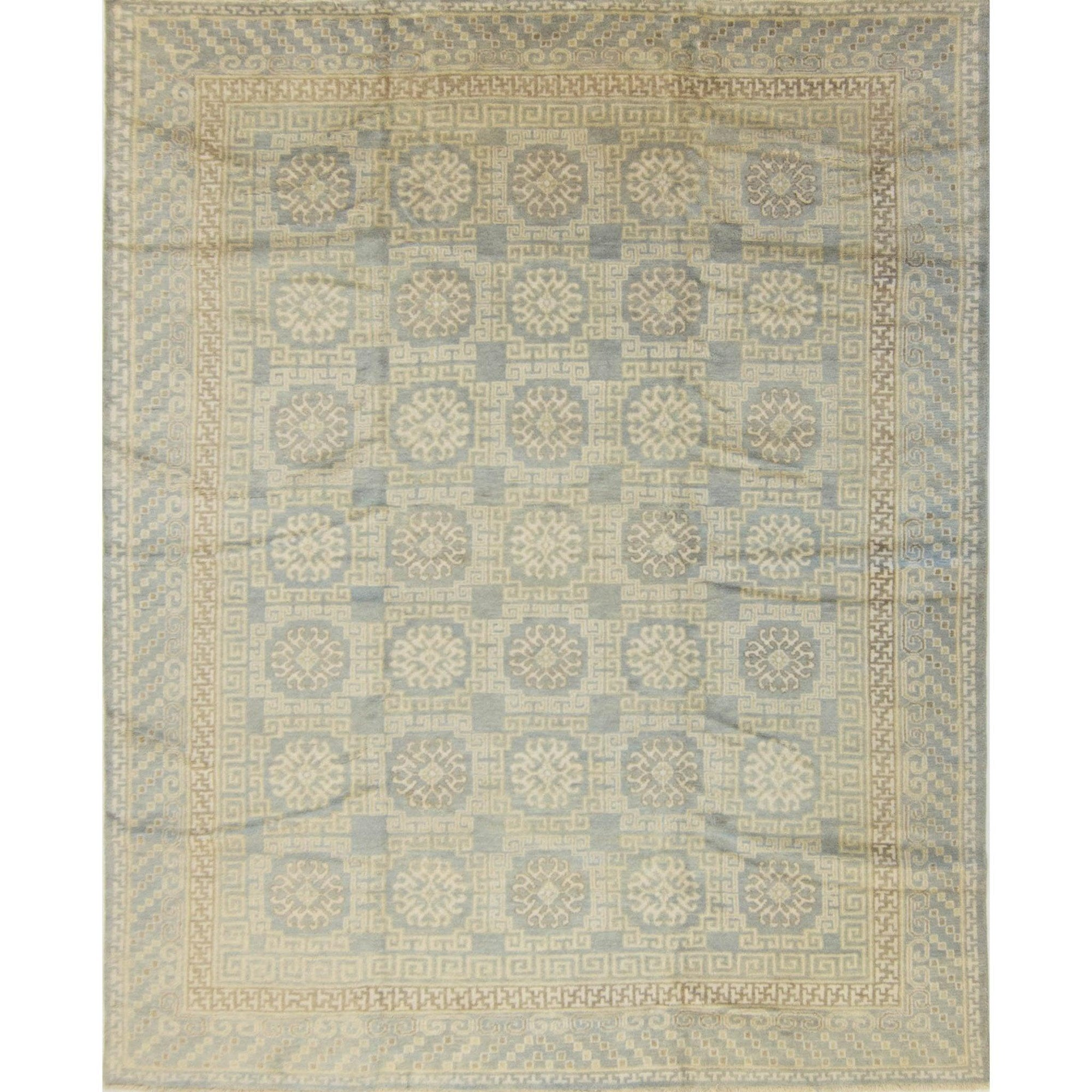 Vintage Hand-knotted wool Khothan Rug 244cm x 297cm Persian-Rug | House-of-Haghi | NewMarket | Auckland | NZ | Handmade Persian Rugs | Hand Knotted Persian Rugs
