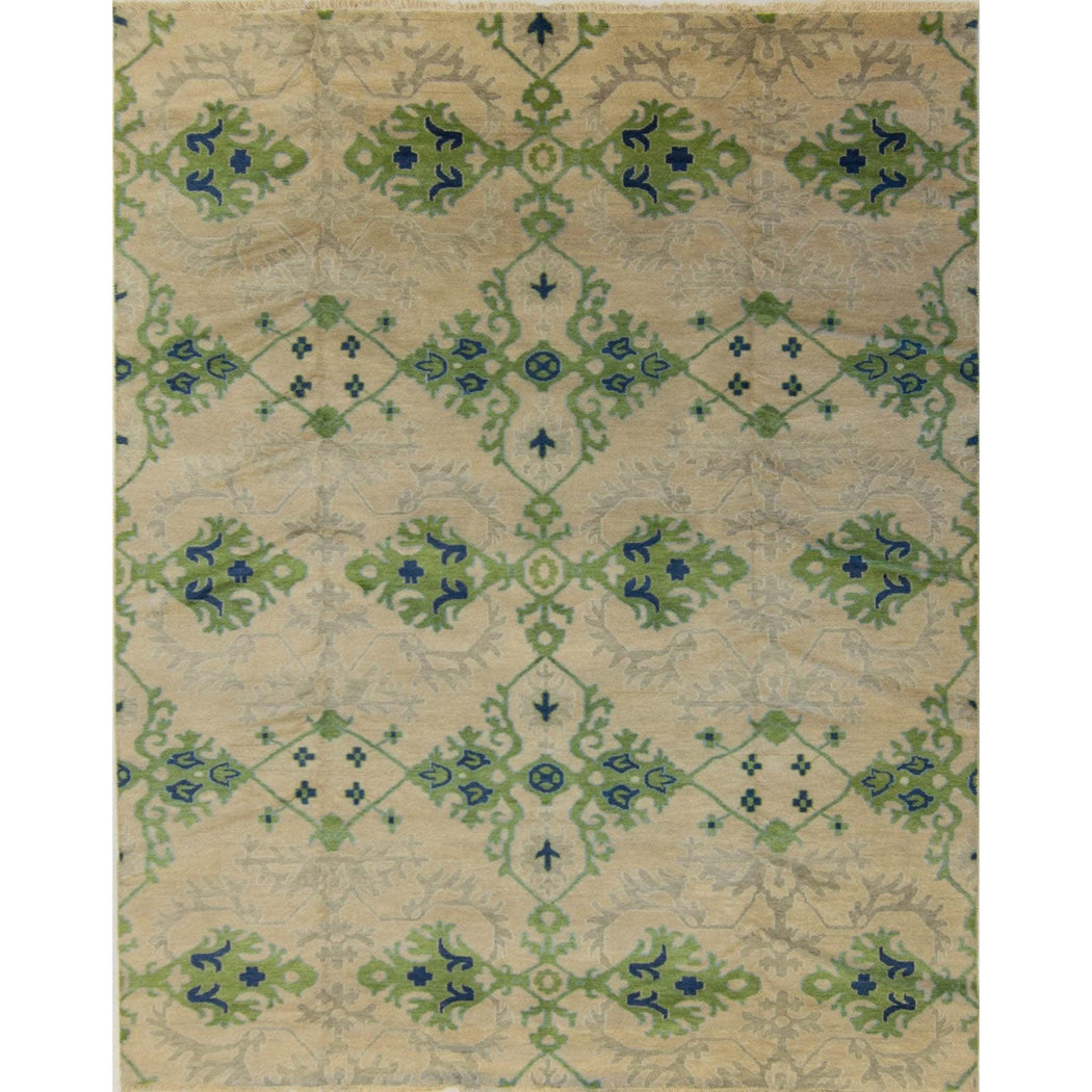 Hand-knotted Wool Kothan Rug 236cm x 300cm - House Of Haghi