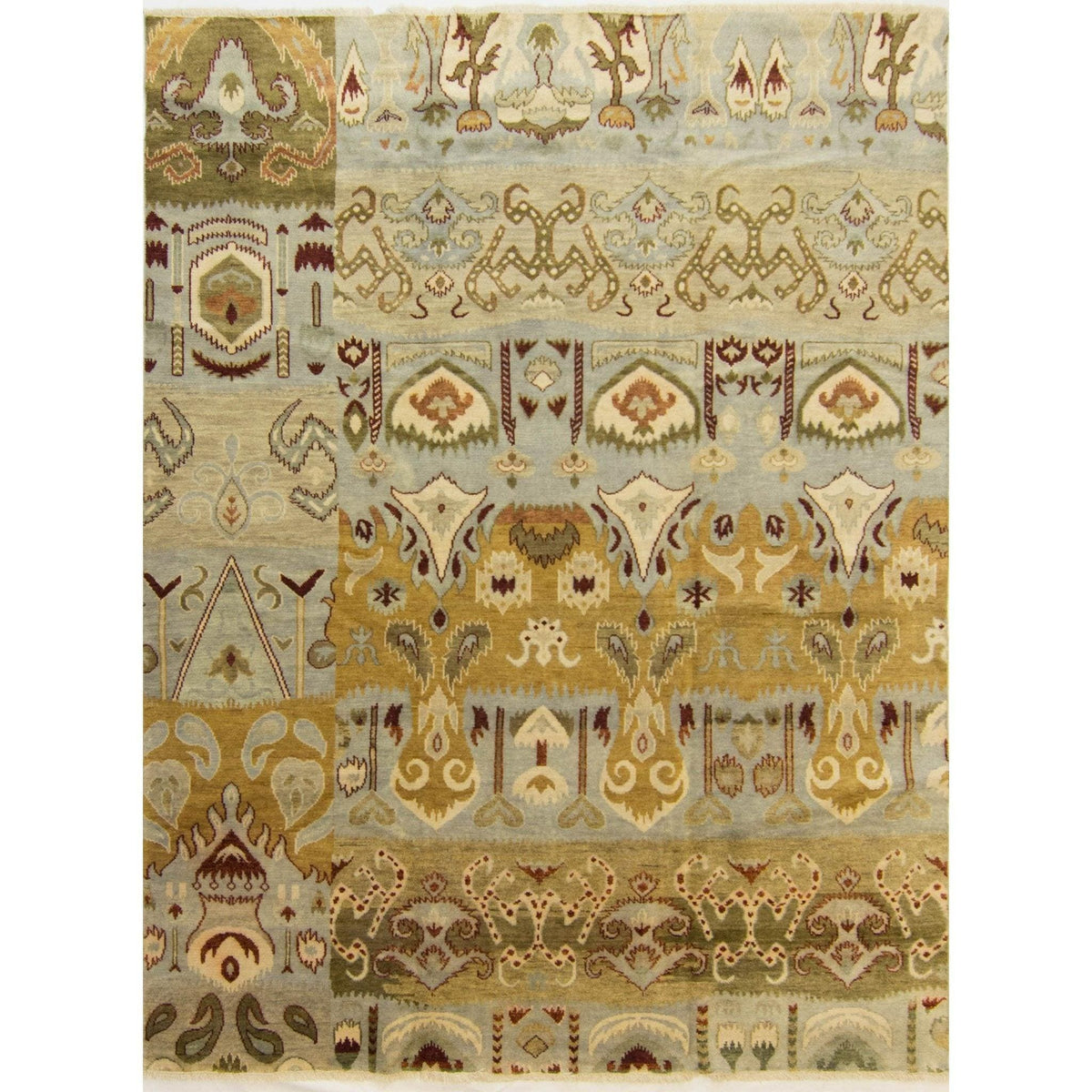 Modern Hand-knotted Wool Khothan Rug 242cm x 293cm Persian-Rug | House-of-Haghi | NewMarket | Auckland | NZ | Handmade Persian Rugs | Hand Knotted Persian Rugs