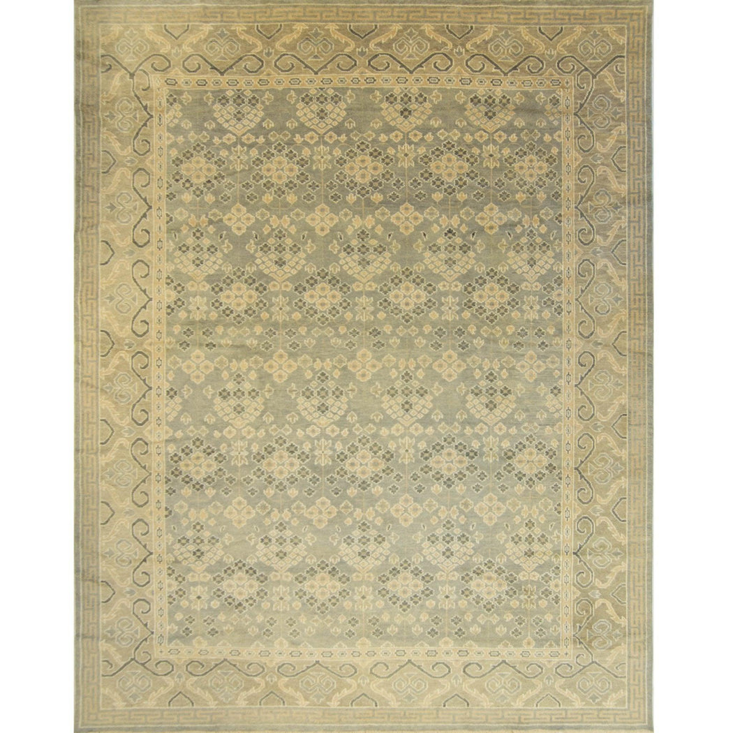 Fine Hand-knotted Contemporary Wool Kothan Rug 307cm x 402cm - House Of Haghi
