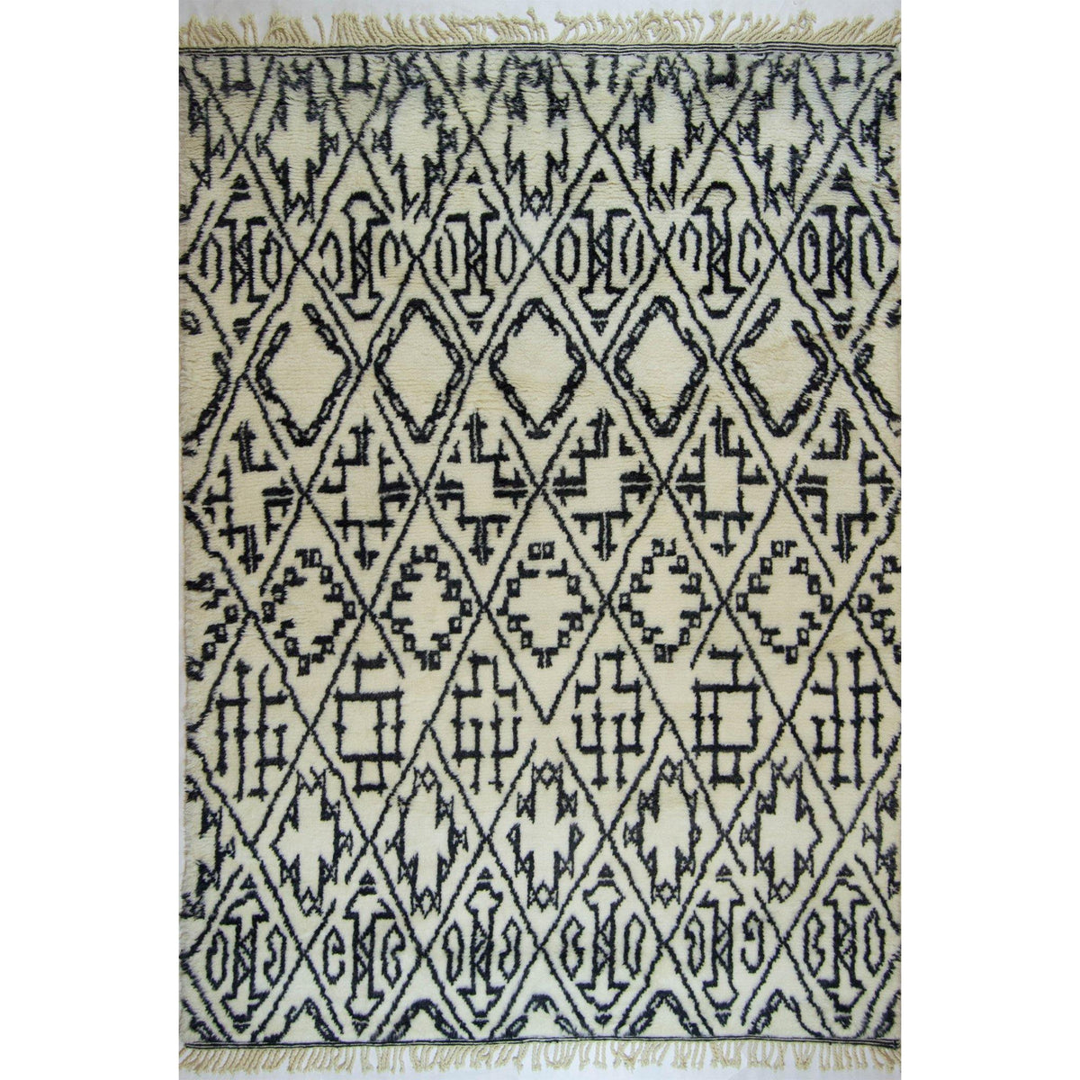 Modern 100% Wool Moroccan Rug 192cm x 262cm Persian-Rug | House-of-Haghi | NewMarket | Auckland | NZ | Handmade Persian Rugs | Hand Knotted Persian Rugs