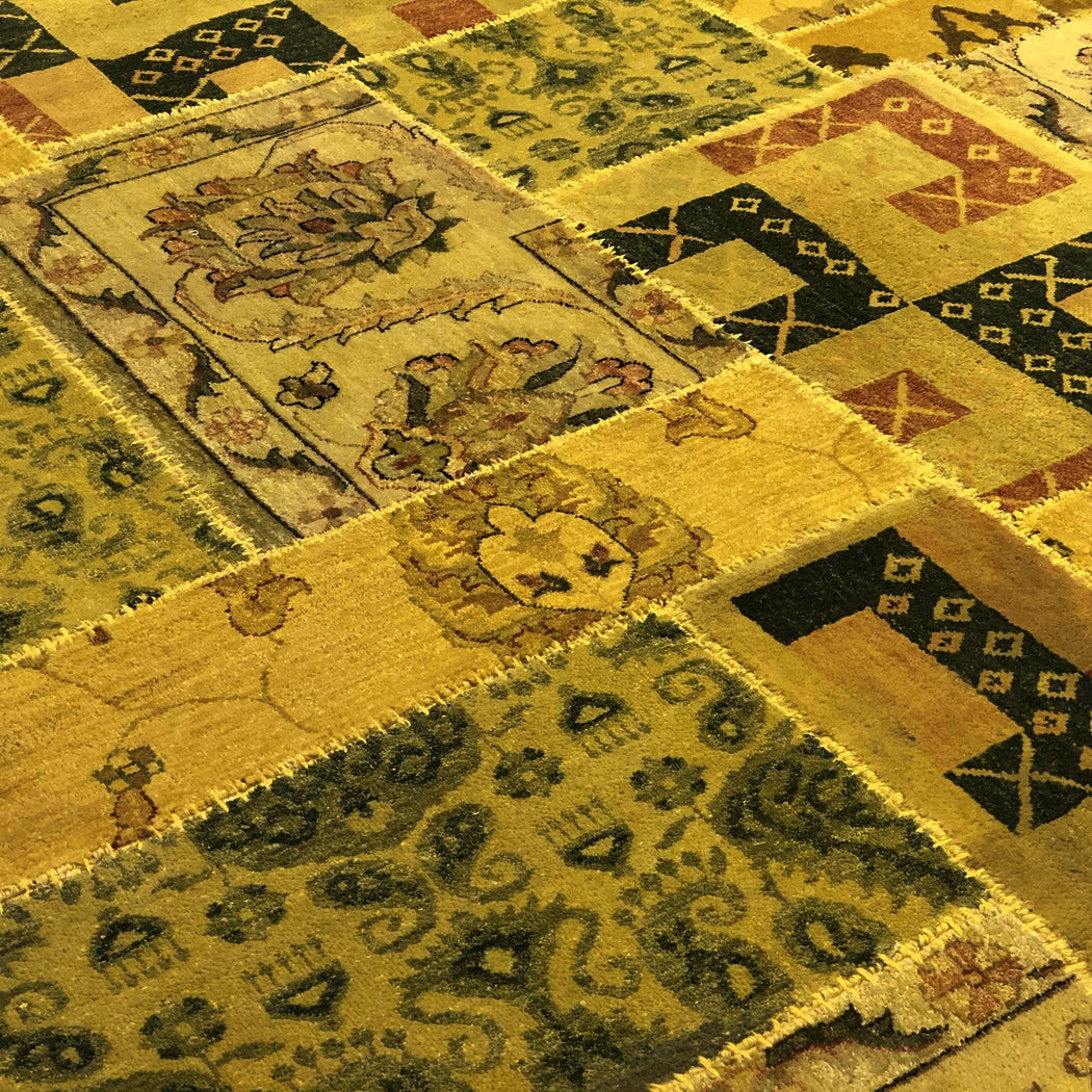 1.5 x 2.5 Meter_Persian_Patchstitch_handknotted_Rug