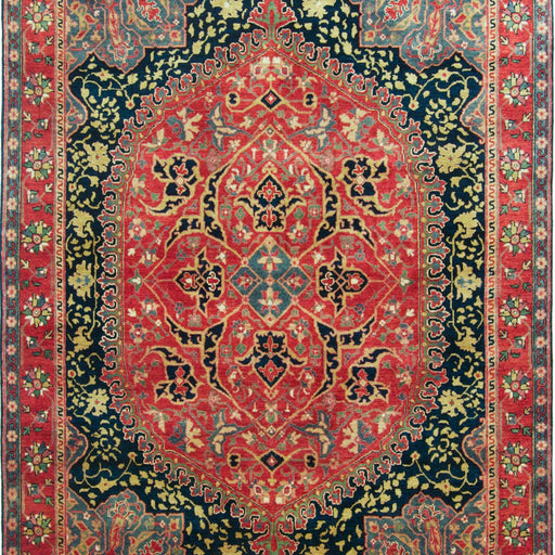 Fine Hand-knotted Wool Persian Farahan Rug 183cm 271cm - House Of Haghi