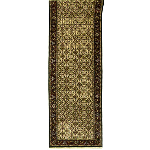 Fine Hand-knotted Wool Persian Maud Runner 79cm x 331cm - House Of Haghi