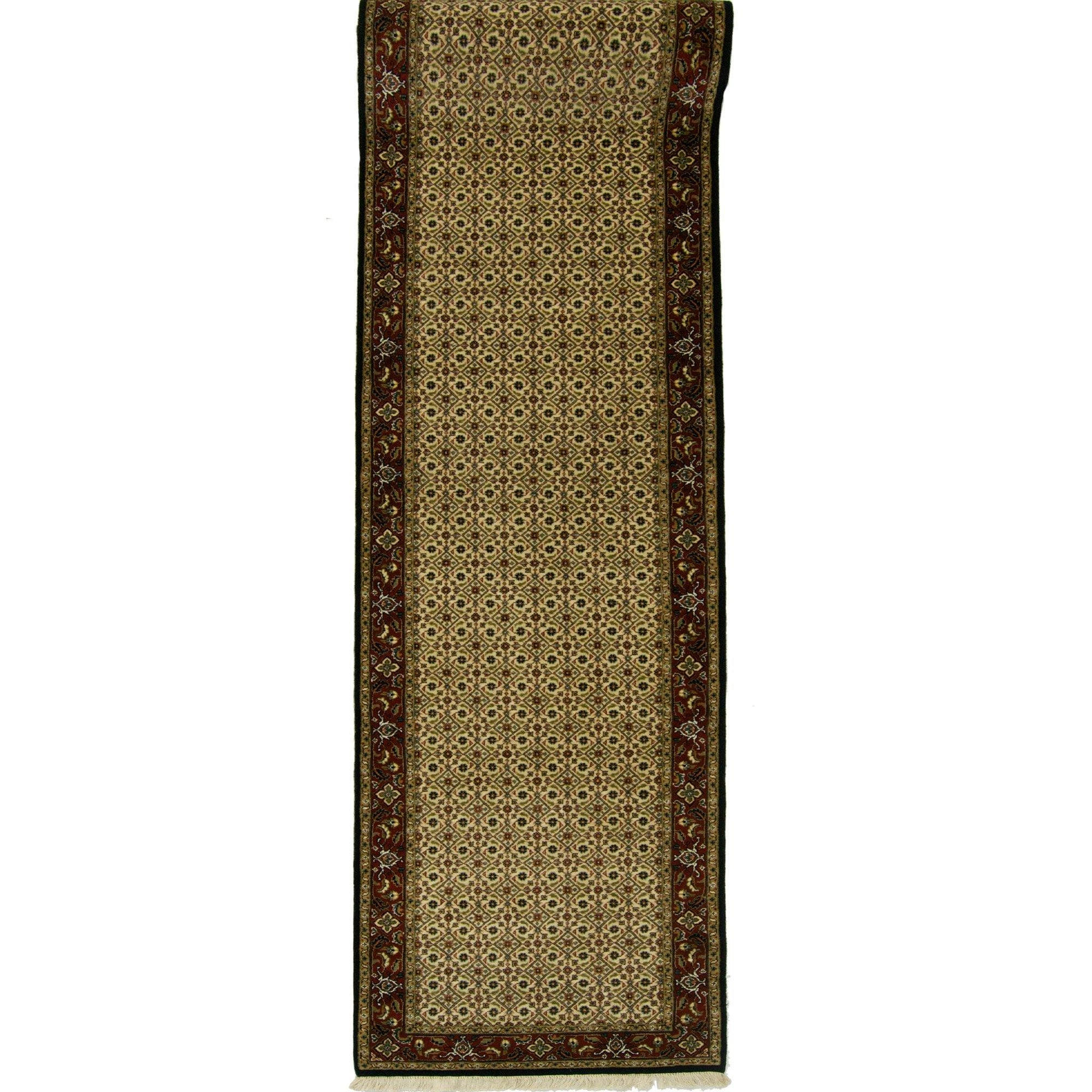 Fine Hand-knotted Wool Persian Maud Runner 80cm x 3.81cm Persian-Rug | House-of-Haghi | NewMarket | Auckland | NZ | Handmade Persian Rugs | Hand Knotted Persian Rugs