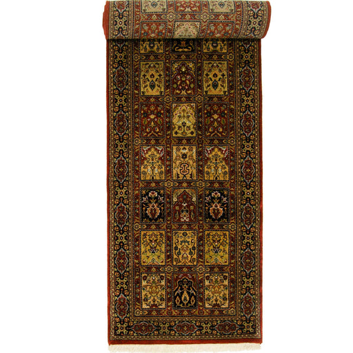 Beautiful Hand-knotted Persian Wool Bakhtiari Runner