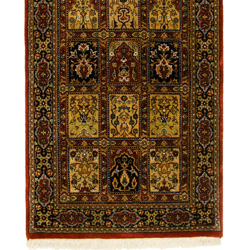 Beautiful Hand-knotted Persian Wool Bakhtiari Runner 79cm x 300cm - House Of Haghi