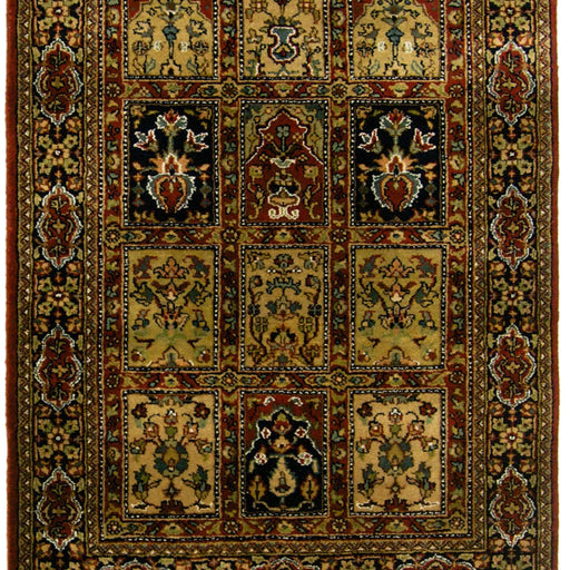 Fine Hand-knotted Wool Bakhtiari Runner 80cm x 244cm - House Of Haghi