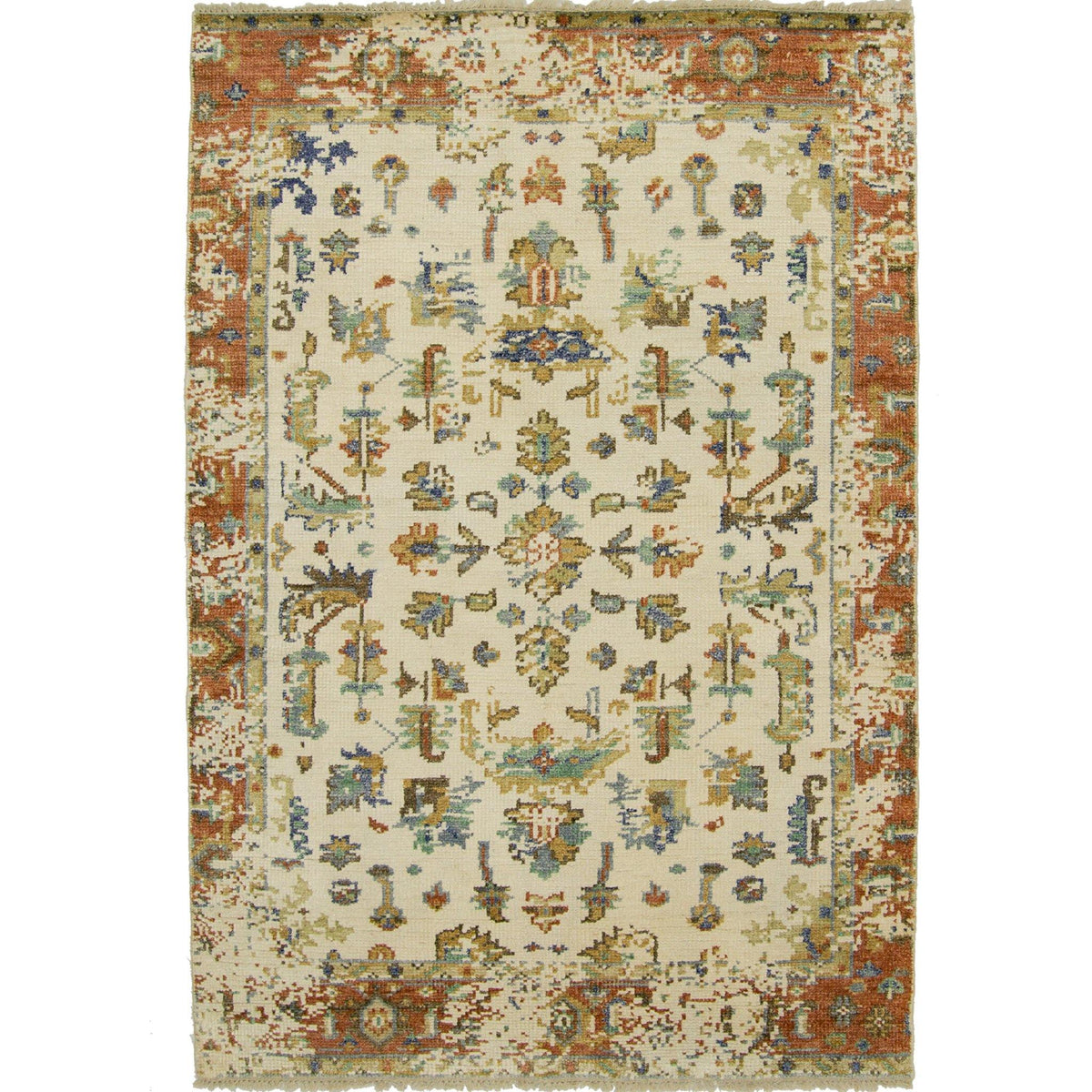Modern Hand-knotted Wool Heriz Design Rug 154cm x 217cm Persian-Rug | House-of-Haghi | NewMarket | Auckland | NZ | Handmade Persian Rugs | Hand Knotted Persian Rugs