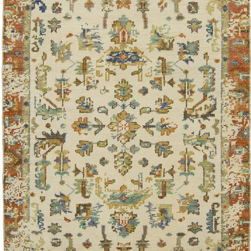 Modern Hand-knotted Wool Heriz Design Rug 154cm x 217cm - House Of Haghi