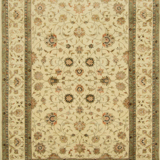 Fine Hand-knotted Wool & Silk Kashan Rug 170cm x 233cm - House Of Haghi