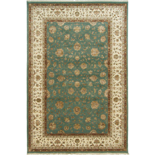Fine Wool & Silk Kashan Rug 196cm x 293cm - House Of Haghi