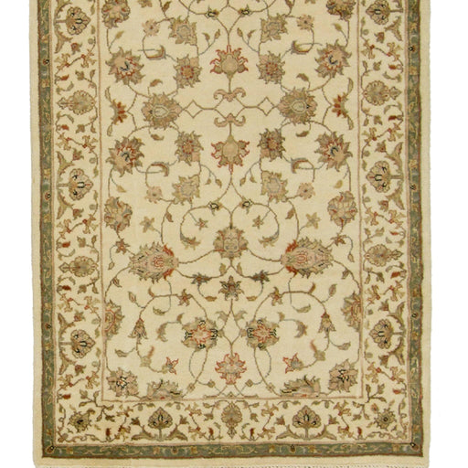 Fine Wool & Silk Hand-knotted Kashan Rug 79cm x 360cm - House Of Haghi